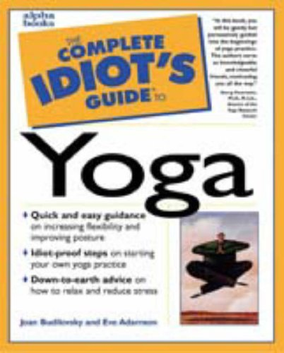 9780028619491: Complete Idiot's Guide to Yoga