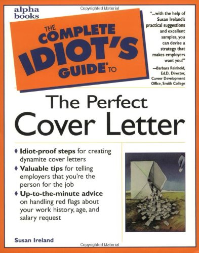 9780028619606: The Complete Idiot's Guide to the Perfect Cover Letter