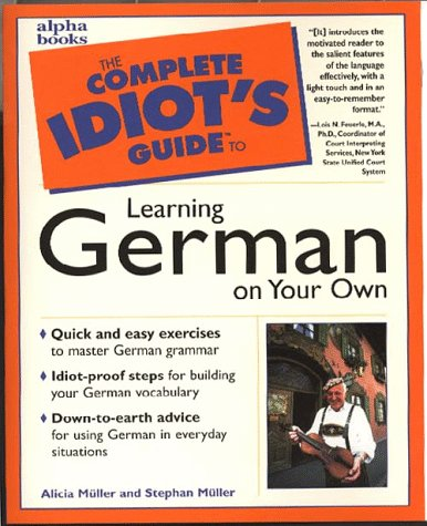9780028619620: Complete Idiot's Guide To Learning German On Your Own
