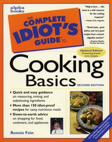 9780028619743: Complete Idiot's Guide to Cooking Basics