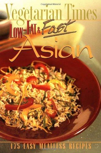 9780028619835: Vegetarian Times Low-Fat & Fast Asian