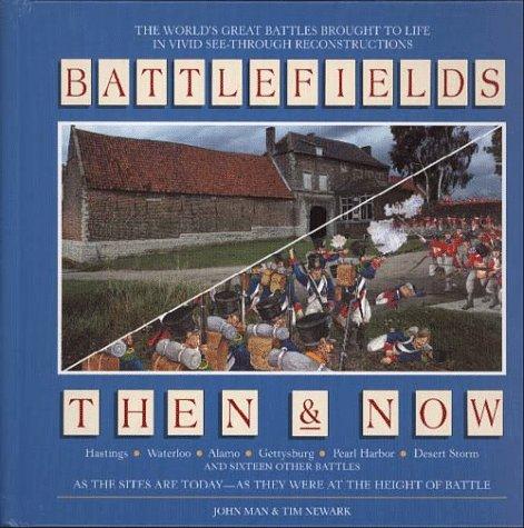 9780028619866: Battlefields Then & Now