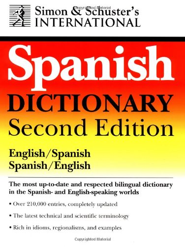 9780028620138: Simon & Schuster's International Spanish Dictionary