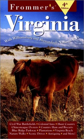 9780028620183: Frommer's Virginia (4th Ed)