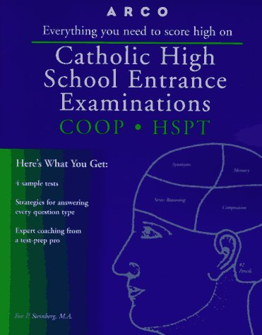 9780028620220: Catholic High School Entrance Examinations: Coop-Hspt (Catholic High School Entrance Examinations, 9th ed)