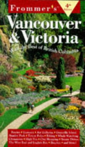9780028620527: Frommer's Vancouver & Victoria (4th ed)