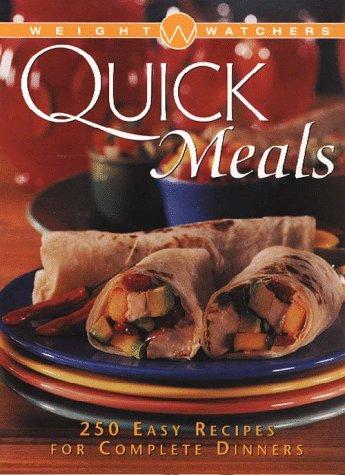 9780028620787: Weight Watchers Quick Meals