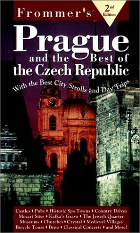 9780028620923: Frommer's Prague & the Best of the Czech Republic (2nd Ed)