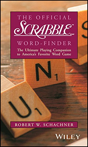 9780028621326: The Official Scrabble Word-Finder