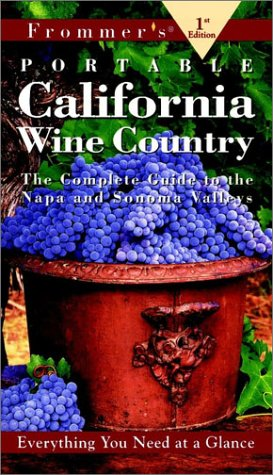 9780028621371: Frommer's Portable California Wine Country