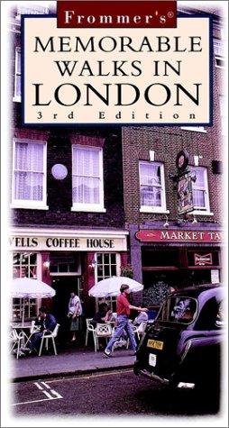 9780028621425: Frommer's Memorable Walks in London
