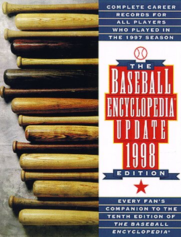 9780028621487: The Baseball Encyclopedia: Complete Career Records for All Players Who Played in the 1997 Season (Baseball Encyclopedia Update)