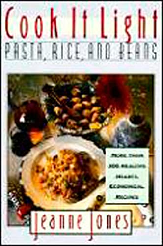 9780028621500: Cook it Light Pasta, Rice, and Beans
