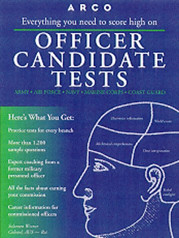 9780028621739: Officer Candidate Tests (4th ed)