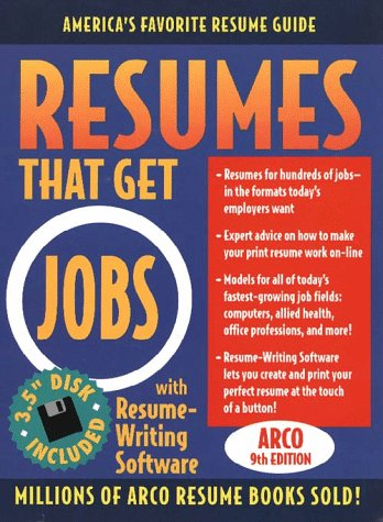 9780028621951: Resumes That Get Jobs 9E W/Disk