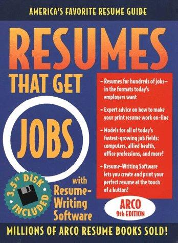 9780028621951: Resumes That Get Jobs, 9 + Resu