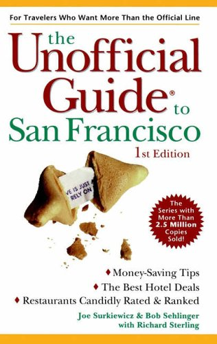 9780028622491: Unofficial Guide to San Francisco (Frommer's Unofficial Guides)