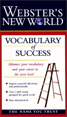 9780028623283: Webster's New World Vocabulary of Success