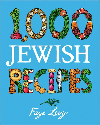 9780028623375: 1,000 Jewish Recipes (1,000 Recipes)
