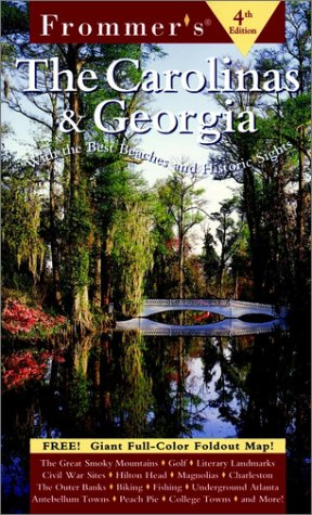 9780028623702: Frommer's The Carolinas & Georgia: With the Best Beaches and Historic Sights (Frommer's Complete Guides)
