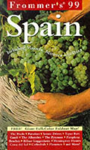 9780028623726: Frommer's 99 Spain (18th ed)