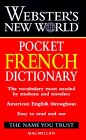 9780028623849: Dic Webster's New World Pocket French Dictionary