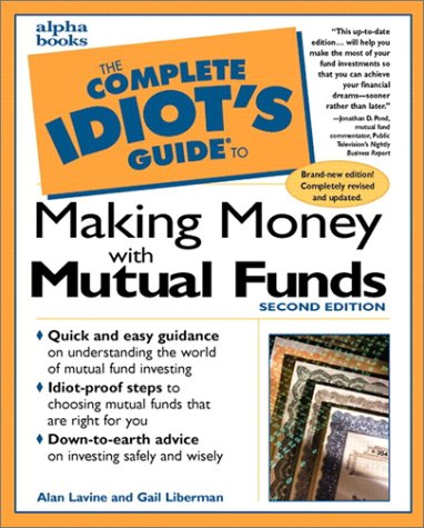 9780028624136: The Complete Idiot's Guide to Making Money with Mutual Funds, Second Edition