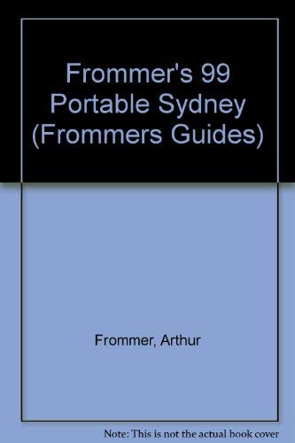 9780028624402: Portable: Sydney, 1st Ed. (Frommer's Portable Guides)