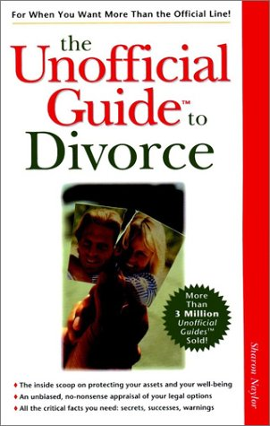 9780028624556: The Unofficial Guide to Divorce