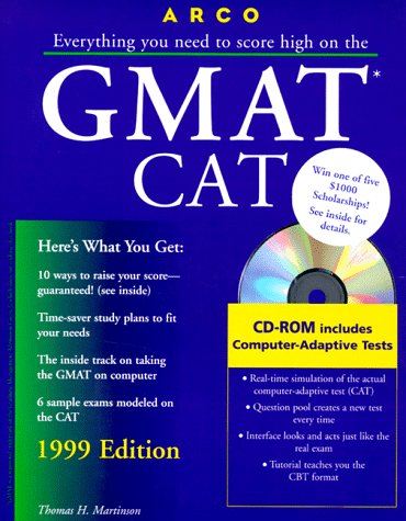 9780028624952: Arco Everything You Need to Score High on the Gmat Cat 1999 (MASTER THE GMAT)