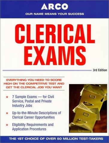 9780028625089: Arco Clerical Exams (3rd ed)
