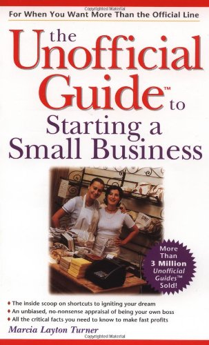 9780028625256: The Unofficial Guide to Starting a Small Business