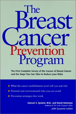 9780028626345: The Breast Cancer Prevention Program