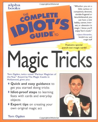 9780028627076: The Complete Idiot's Guide to Magic Tricks