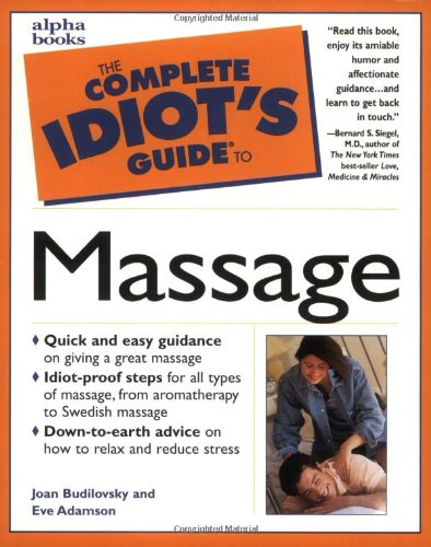 9780028627083: Complete Idiot's Guide to Massage