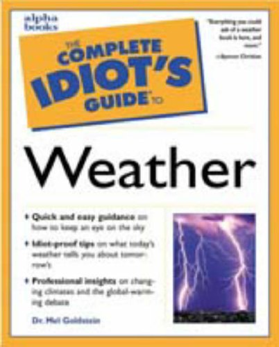 9780028627090: The Complete Idiot's Guide to Weather