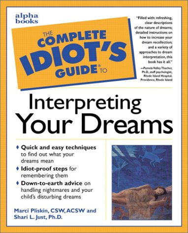 9780028627366: The Complete Idiot's Guide to Interpreting Your Dreams