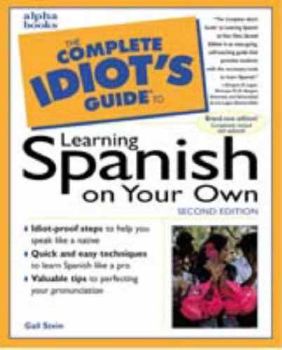 9780028627434: The Complete Idiot's Guide to Learning Spanish on Your Own