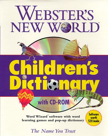 9780028627489: Webster's New World Children's Dictionary (with CD-ROM)