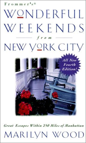 9780028627687: Frommer's Wonderful Weekends From New York City