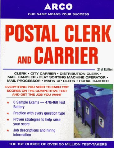 9780028628097: Postal Clerk and Carrier, 21st Edition