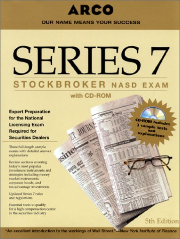 9780028628226: Series 7 : Stockbroker NASD Exam (with CD-ROM)