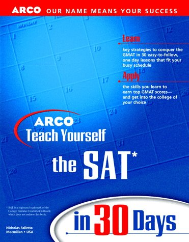 9780028628271: Teach Yourself the SAT in 30 Days