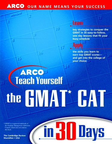 9780028628301: Teach Yourself the GMAT CAT in 30 Days