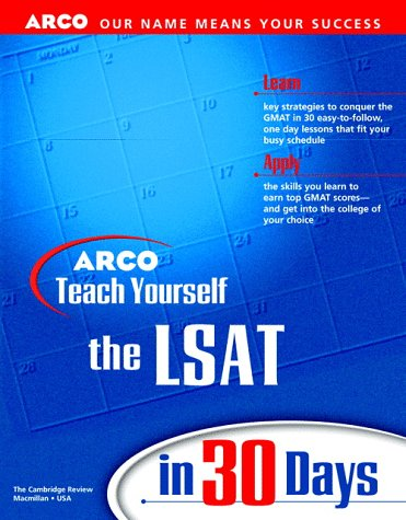 9780028628318: Teach Yourself the LSAT in 30 Days