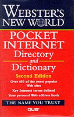 9780028628820: Pocket Internet Directory (Webster's New World)