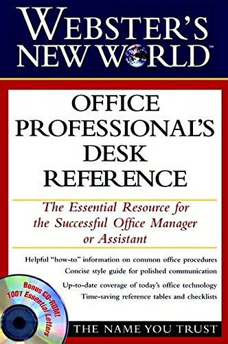 9780028628837: Webster's New World Office Professional's Desk Reference