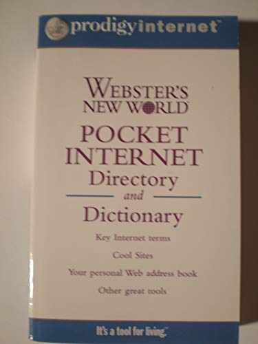 9780028628851: Webster's New World Pocket Internet Directory and Dictionary