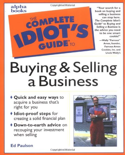 9780028629032: The Complete Idiot's Guide to Buying and Selling a Business