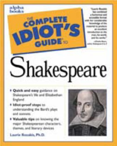 9780028629056: The Complete Idiot's Guide to Shakespeare
